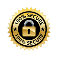 100% Secure SSL Transactions